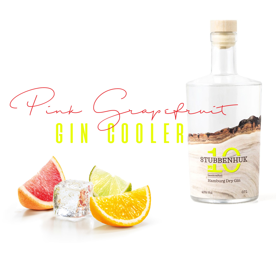 Pink Grapefruit Gin Cooler